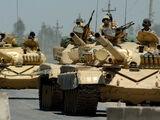 Invasion of Iraq, 1996 (President Dukakis)