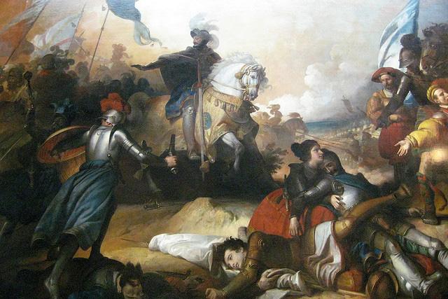 Война Священной лиги (Победа при Босуорте)