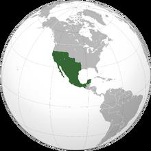 Localización de Segunda República Mexicana (NT)