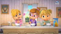 The Chipettes in The Birthday Surprise