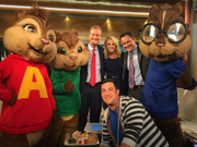 The Chipmunks on FOX & Friends