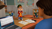 The Chipmunks and Dave in Unbored