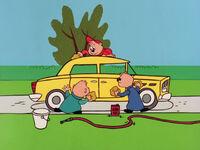 The Chipmunks in Overworked Alvin