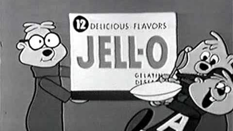 Alvin & the chipmunks- jell-o commercial