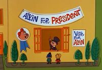 Alvin in Alvin for President