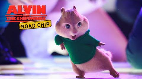 """Alvin and the Chipmunks The Road Chip """"Juicy Wiggle"""" Lyric Video FOX Family"""