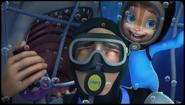 Diving with Shark Selfie