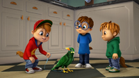 The Chipmunks with Birdy
