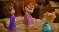 The Chipettes' pajamas outfits