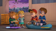 The Chipmunks and Eleanor in My Fair Chipette