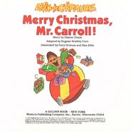 Merry Christmas, Mr. Carroll! Title Page