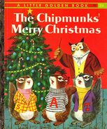 The Chipmunks' Merry Christmas Book Cover