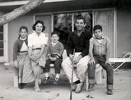 Ross Sr. and his Family