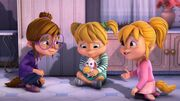 The Chipettes and Pippy