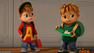 Alvin and Theodore in The Great Snack Off
