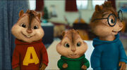 The Chipmunks at music practice