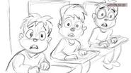 Slippin' Thru My Fingers storyboards 01