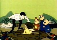 The Chipmunks, Dave, & Sam Valiant in Sam Valiant Real Estate