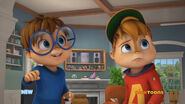 Alvin and Simon in Time Traveler's Party