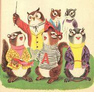 The Chipmunks' Merry Christmas Illustration 3