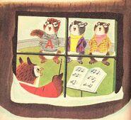 The Chipmunks' Merry Christmas Illustration 1