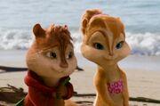 Alvin & Britt on Island