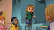 Theodore in Bathroom Bully