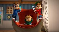 Alvin & Simon Playing Video Game