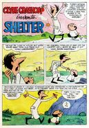Clyde Crashcup Dell Comic 4 - Invents Shelter