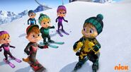 The Chipettes and Chipmunks in Yeti or Not