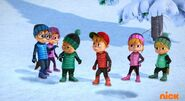 The Chipmunks and Chipettes in Yeti or Not