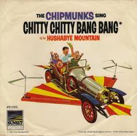 The Chipmunks sing Chitty Chitty Bang Bang Single Cover.png