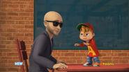 Alvin hiring an actor