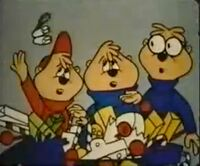 The Chipmunks in Sing a Goofy Song