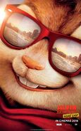 Alvin and the Chipmunks The Road Chip Character Poster 01