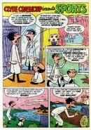 Clyde Crashcup Dell Comic 4 - Invents Sports