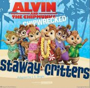 Castaway Critters Book Illustration