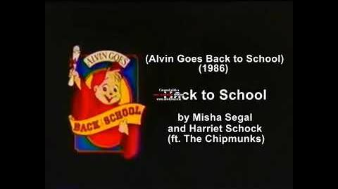 The Chipmunks - Back to School