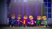 The Chipmunks and The Chipettes in Writer's Block