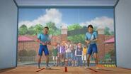 The Squash Game in Alvin's Nightmare