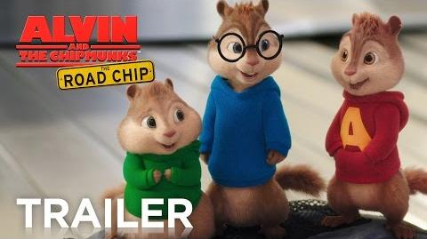 Alvin and the Chipmunks The Road Chip Official Trailer 2