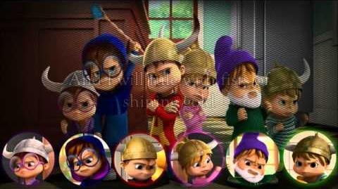 Fists of shining gold Alvin and the chipmunks and The chipettes lyrics