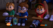 The Chipmunks in It Came From Outer Space