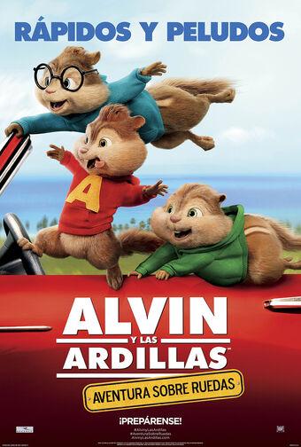 Alvin Y Las Ardillas Aventura Sobre Ruedas Alvin Y Las Ardillas Wiki Fandom