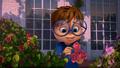 Simon picking roses