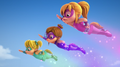 The Chipettes in Super Girls