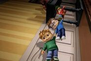 The Chipmunks in Simon saves the World