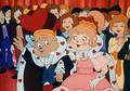 Alvin y Brittany como reyes de San Valentin
