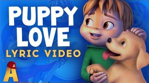 """Puppy Love"" Music and Lyrics Video! NUTS2U Alvin and the Chipmunks"