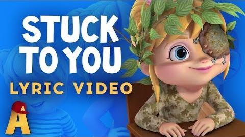 """Stuck On You"" Lyrics Video! NUTS2U Alvin and The Chipmunks"